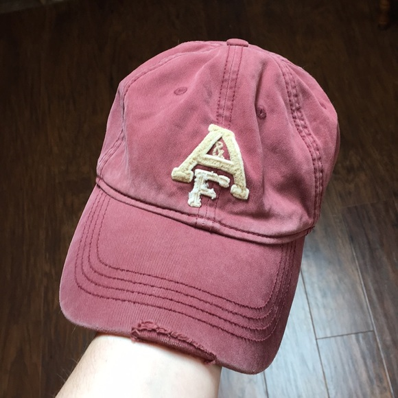 ee10c22a3db Abercrombie   Fitch Other - Vintage Distressed A F Fitted Cap
